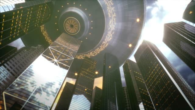 OVNI-ciudad-rascacielos-invasión