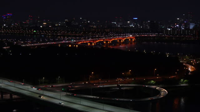 Aerial-view-Seoul-City-Skyline-in-Seoul-South-Korea