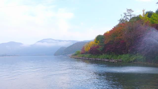Nami-Insel-im-Herbst-Südkorea