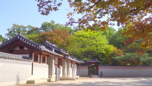 Gyeongbokgung-palace-in-autumn-of-South-Korea