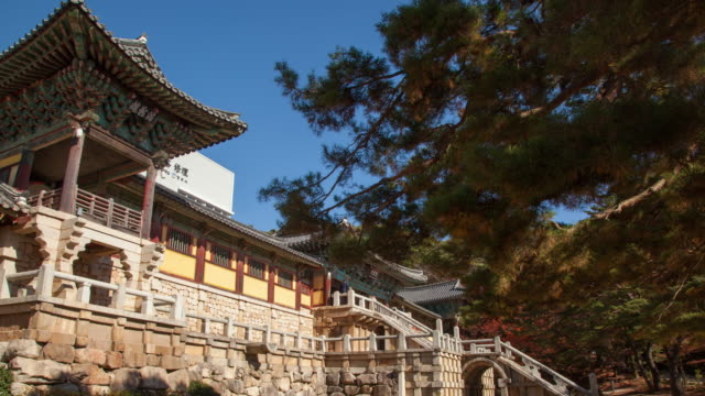 Gyeongsangnam---do-Gyeongju-Bulguksa-Architecture-4K-Hyper-lapse