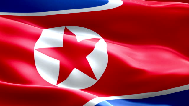 north-korea-flag-waving-texture-fabric-background-crisis-of-north-and-south-korea-korean-risk-nuclear-bomb-war