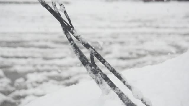 Windshield-wiper-in-falling-snowy-weather-in-Gangneung-Gangwon-do-Province