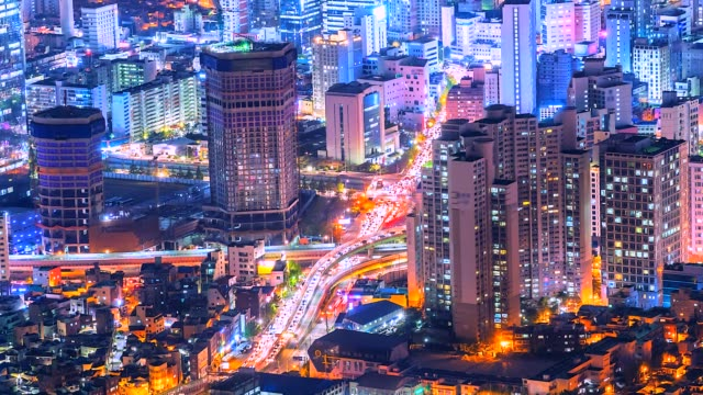 4K-Time-lapse-View-of-Korea-city-South-Korea