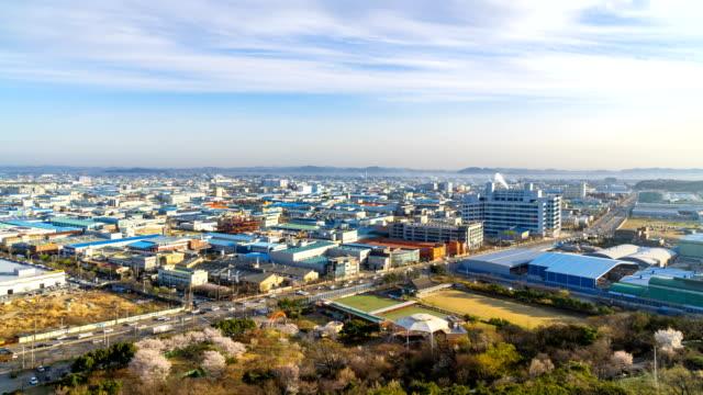 Timelapse-of-the-industrial-park-incheon-Seoul-Korea