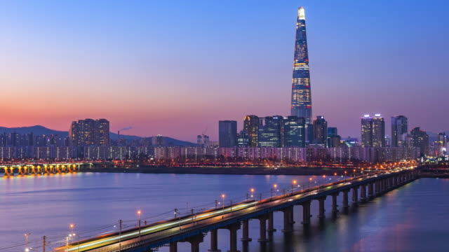 Time-lapse-4K-of-Seoul-City-South-Korea-