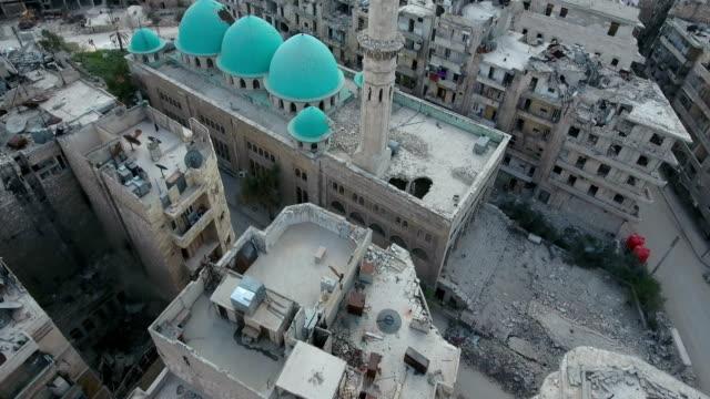 Luftaufnahme-des-abgerissenen-Städtebau