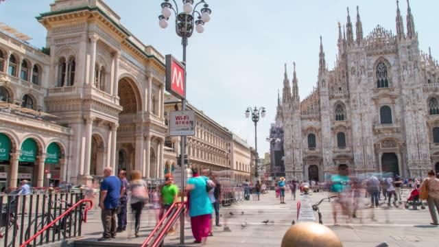 Cúpula-de-timelapse-de-Milano