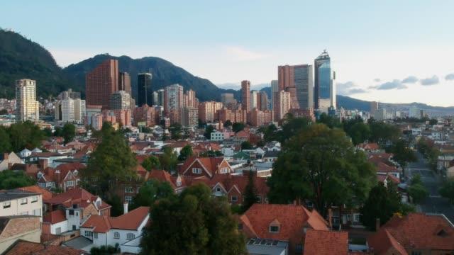 Schönheitslandschaft-aus-Bogota-Kolumbien