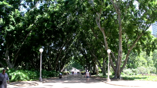 People-walking-in-Hyde-park-Sydney