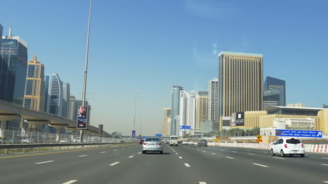 day-time-dubai-marina-sheikh-zayed-road-traffic-car-ride-4k-uae