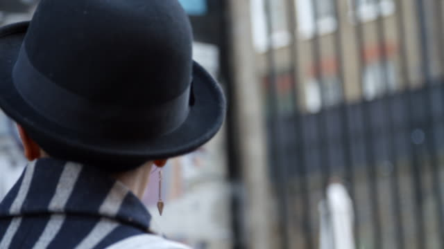 Rear-View-Of-Stylish-Fashion-Blogger-Walking-On-Urban-Street