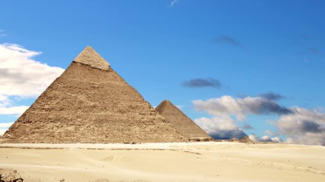 """Pyramiden-von-Gizeh-Kairo-Ã""""gypten-Zeitraffer-"""