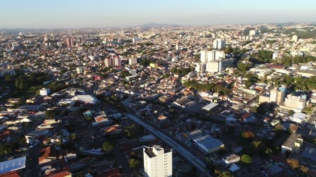 Vista-aérea-de-Itaquera---barrio-suburbano-de-Sao-Paulo-Brasil