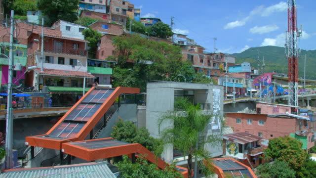 Escalators-in-comuna-13-neighborhood-of-Medellin-Colombia