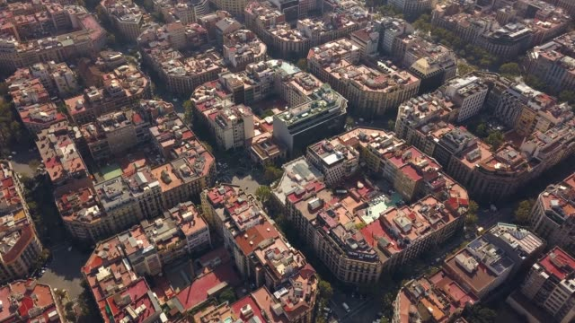 Typical-square-quarters-of-Barcelona