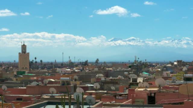 Skyline-of-Marrakech-Morocco