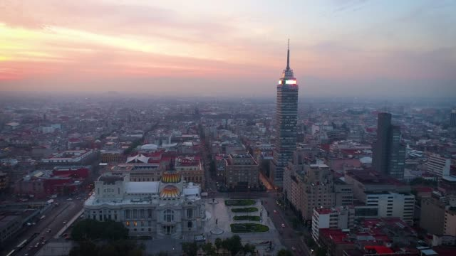 Historic-center-of-Mexico-City-view-with-drone