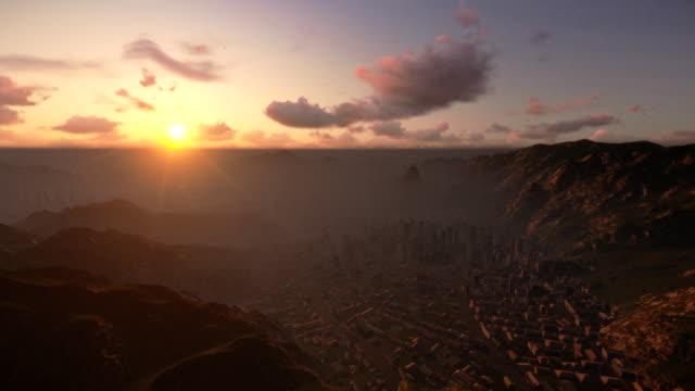 Cristo-el-redentor-Río-de-Janeiro-sunrise-cámara-mosca
