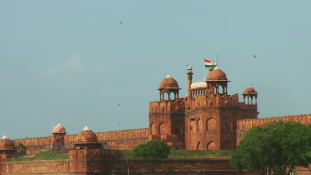 Ruht-auf-Aufnahme-von-Red-Fort-Delhi-Indien