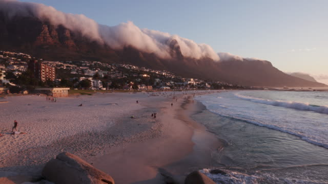 Timelapse-of-the-world-famous-Camps-Bay-beach-Cape-Town-South-Africa