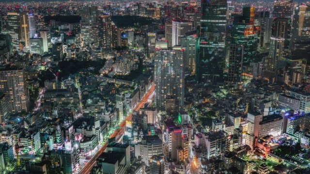 Elevated-view-of-Tokyo