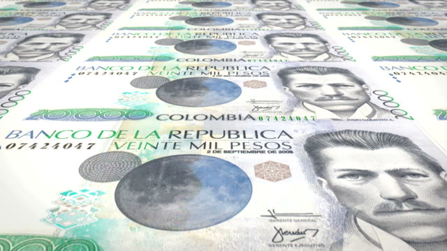 Banknotes-of-twenty-thousand-colombian-pesos-of-Colombia-cash-money-loop