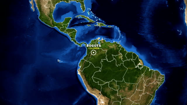 EARTH-ZOOM-IN-MAP---COLOMBIA-BOGOTA