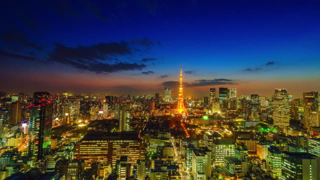 4K-Time-lapse-Cityscape-at-Tokyo-city-with-Tokyo-Tower-in-japan