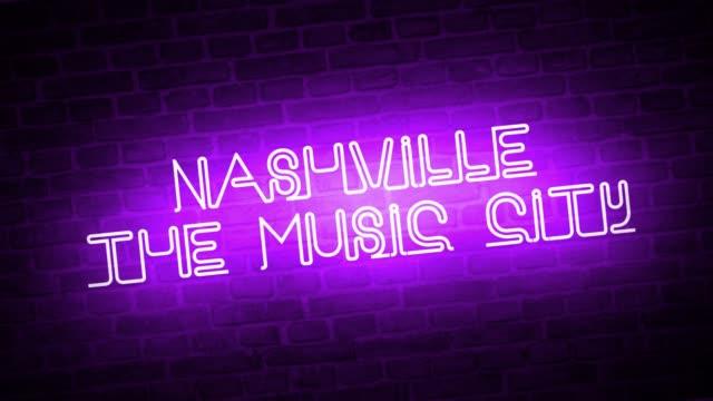Un-letrero-de-neón:-Nashville-The-Music-City