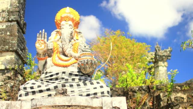 Ganesha-at-a-Hindu-Temple-in-Bali---A-Cloud-lapse