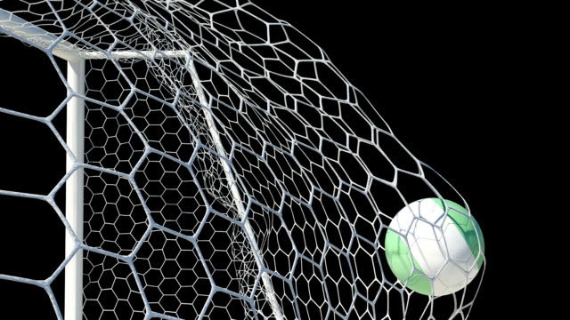 Nigeria-Ball-Scores-in-Slow-Motion-with-Alpha-Channel