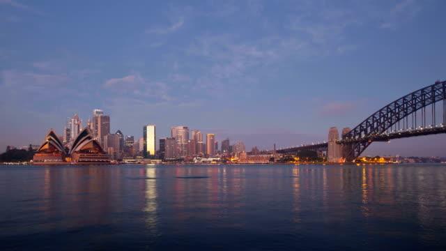Sydney-cityscape-sunrise-timelapse