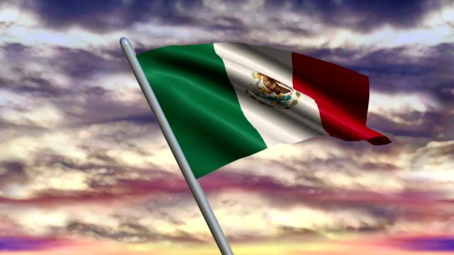 Mexican-Flag-Animation