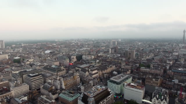 Flying-By-Centre-London-Piccadilly-Circus-and-Leicester-Square-England-4K-UHD