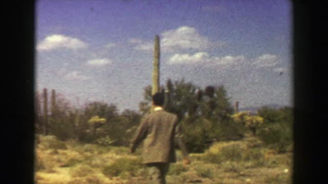 """1951:-Organ-Pipe-Cactus-National-Monument-Park-lush-green-desert-mountains-"""