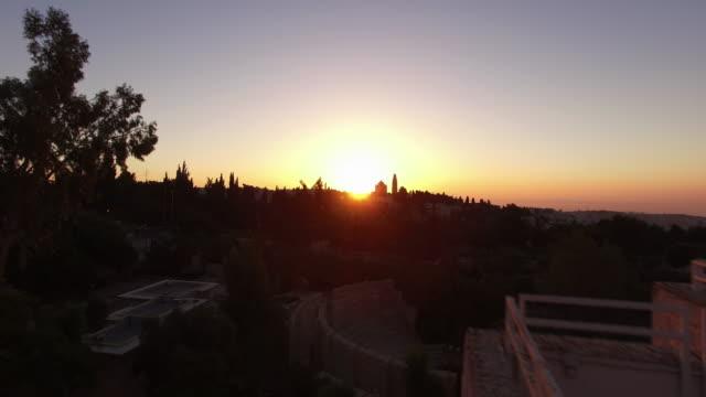 Ciudad-vieja-de-Jerusalén-Israel:-Sunrise