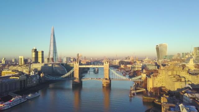 Vista-aérea-paisaje-urbano-de-Londres-y-el-Támesis