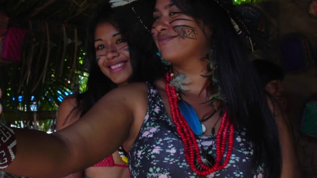 Selfie-of-Native-Brazilians