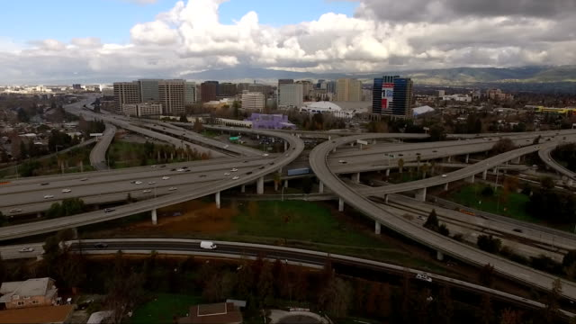 View-Over-Highways-San-Jose-California-Downtown-City-Skyline