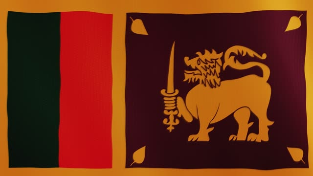 Sri-Lanka-flag-waving-animation-Full-Screen-Symbol-of-the-country