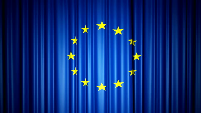EU-flag-3d-animation-of-opening-and-closing-curtains-with-flag-4k