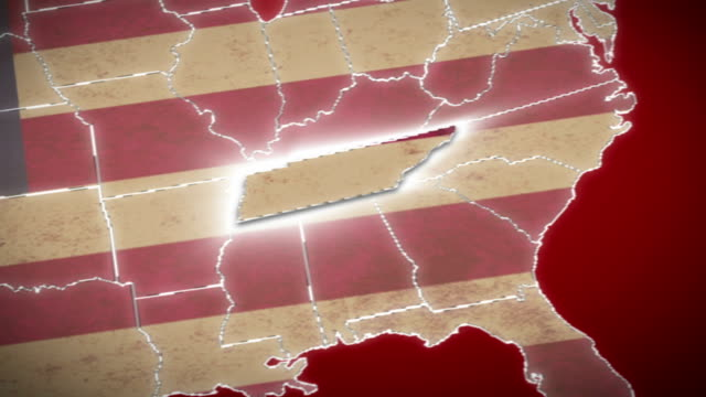 USA-map-Tennessee-pull-out-all-states-available-Red
