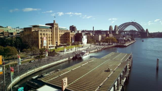 Timelapse-De-Movimiento-Del-Puerto-De-Sydney
