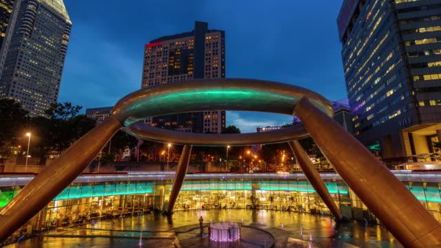 fuente-del-cielo-del-atardecer-de-la-riqueza-4-tiempo-k-caer-de-Singapur