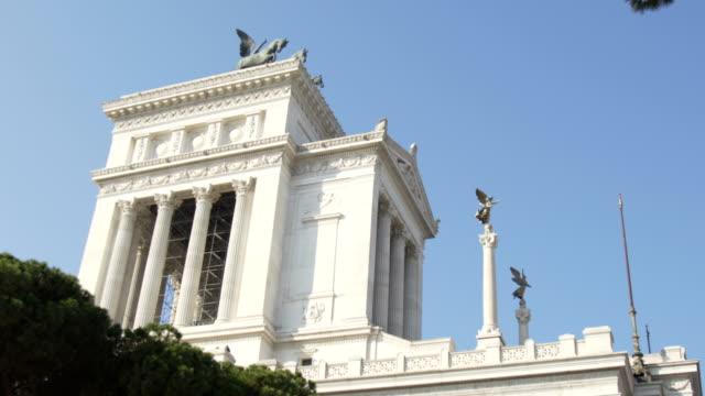 Monumento-a-Manuel-II-y-el-Altare-della-Patria-en-Roma-Italia