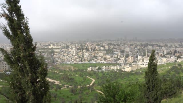 Jerusalén-Vista-de-la-ciudad-desde-el-mirador