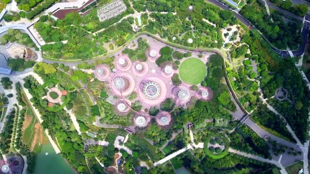 Luftaufnahme-von-Grove-Gardens-in-Singapur-Singapore-City