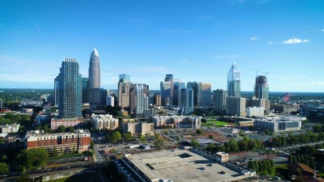 Charlotte-North-Carolina-USA-Skyline-Drone-Aerial