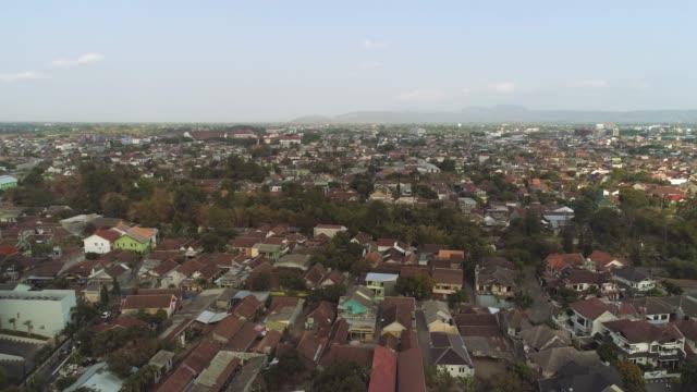 vista-aérea-de-Yogyakarta,-Indonesia